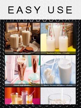how to make milkshakes apk screenshot