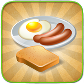 How to make breakfast icon