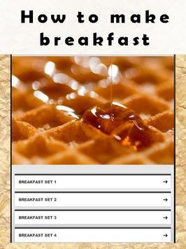 How to make breakfast apk screenshot