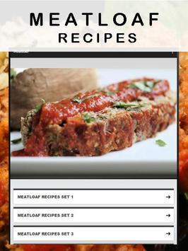 Meatloaf recipes poster