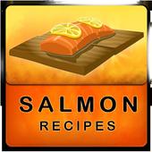 Salmon recipes icon