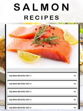 Salmon recipes poster