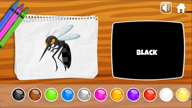 Learning colors, Coloring book & Matching games screenshot 1