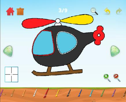 Learning colors, Coloring book & Matching games screenshot 2