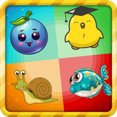 Puzzles - Memory Game for kids icon