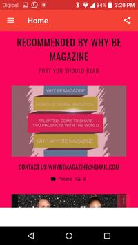 Whybe Magazine apk screenshot