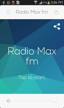 Radio Max fm screenshot 1