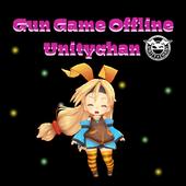 Gun Game Offline Unitychan icon