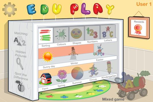 Preschool EduPlay Free poster