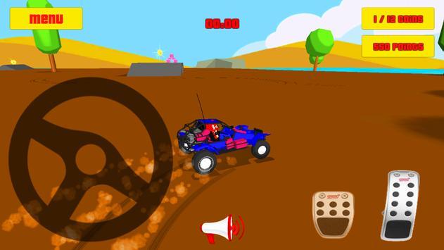 Baby Car Fun 3D - Racing Game poster