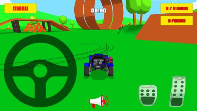 Baby Car Fun 3D - Racing Game screenshot 1