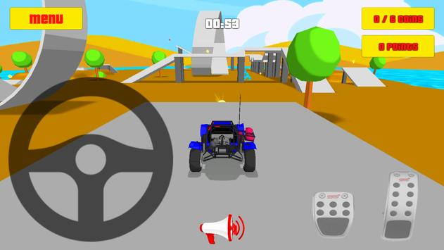 Baby Car Fun 3D - Racing Game screenshot 2