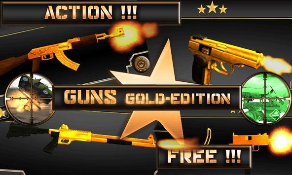 Guns - Gold Edition poster