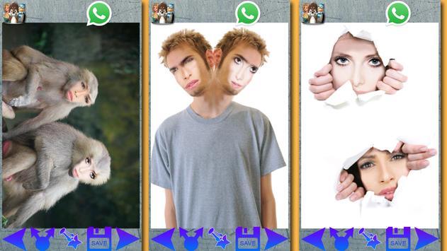 Funny Photo Studio - 2 Faces poster