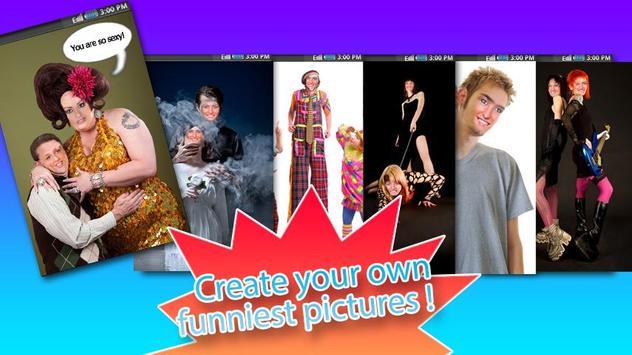 Funny Photo Studio - 2 Faces apk screenshot
