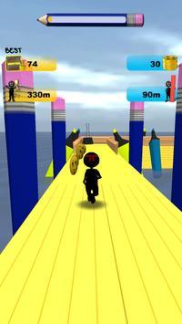 Stickman Run: 1 2 3 Go Running screenshot 14