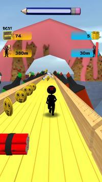 Stickman Run: 1 2 3 Go Running screenshot 19