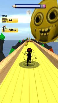 Stickman Run: 1 2 3 Go Running screenshot 12