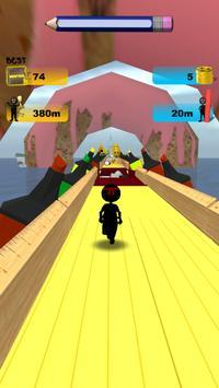 Stickman Run: 1 2 3 Go Running screenshot 5
