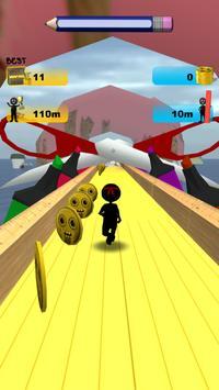 Stickman Run: 1 2 3 Go Running screenshot 8