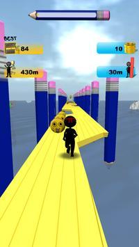 Stickman Run: 1 2 3 Go Running screenshot 9