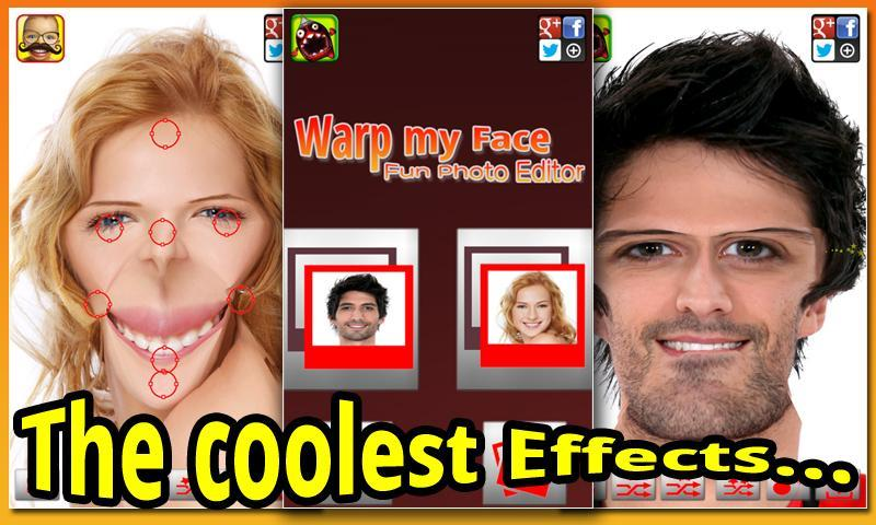 Warp My Face: Fun Photo Editor for Android - APK Download