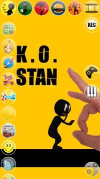 Talking Stan Stickman poster