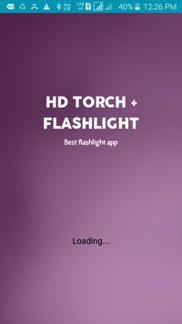 HD TORCH + FLASHLIGHT poster