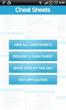 Cheat Sheets Lite poster