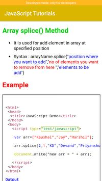 JavaScript Tutorials screenshot 6