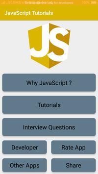 JavaScript Tutorials poster
