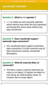 JavaScript Tutorials screenshot 2