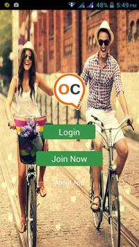 Oii Chat Messenger Chating App poster
