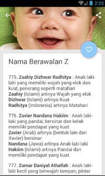 Rangkaian Dan Arti Nama Bayi Laki-Laki Islami Ekran Görüntüsü 2