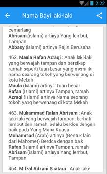 Rangkaian Dan Arti Nama Bayi Laki-Laki Islami Ekran Görüntüsü 3