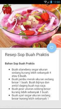 Aneka Resep Es Buah Praktis apk screenshot