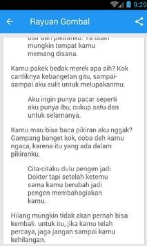 Kata Cinta Gombal Galau Lengkap Update apk screenshot