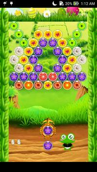 Bubble Shooter Flower poster