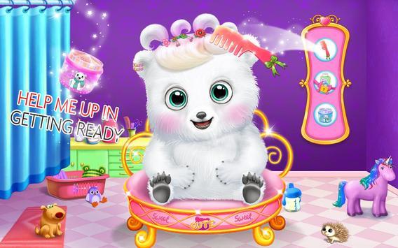 Bear Dress up & Makeup Salon – Pet Care Game screenshot 2