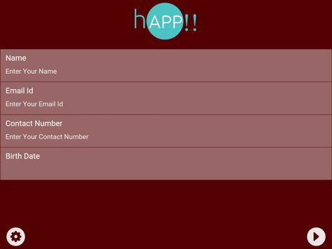 hAPP!! Feedback apk screenshot
