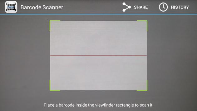 Barcode Scanner poster
