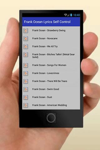 Frank Ocean American Wedding.Frank Ocean Lyrics For Android Apk Download
