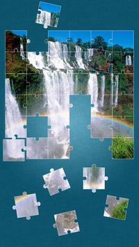 Waterfall Jigsaw Puzzle poster