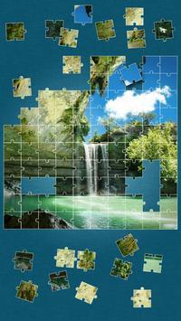 Waterfall Jigsaw Puzzle screenshot 1