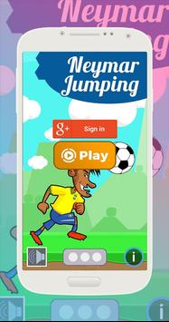 Neymar Jumping Game - Football Heading poster