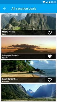 Vacation Ideas & Packages screenshot 1