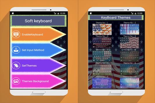 American Keyboard free HD apk screenshot
