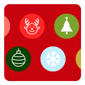 Mycolors Christmas icon