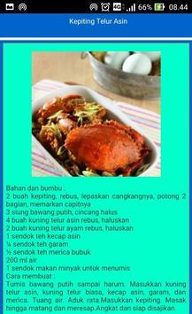 Resep Seafood dan Ikan apk screenshot