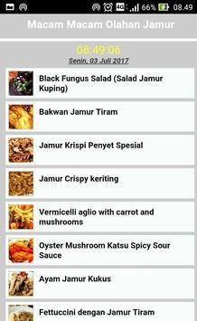 Resep Aneka Olahan Jamur apk screenshot